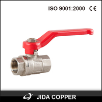 float brass float long stem ball valve
