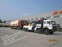 BEIBEN 50 ton wrecker towing truck