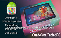 10.1 Inch Tablet Pc Rk3066 Dual Core Tablet Pc Dual Core Cortex A9 1.6ghz Android 4.2.1 Jelly Bean System Wholesale Tablet Pc