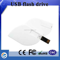 World best selling products pen drive brand names with gift paper bag