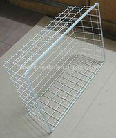 Mesh metal wire caddy basket