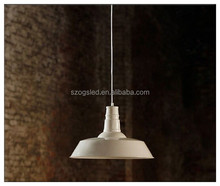 alibaba china restaurant decoration lighting chandeliers white metal ce rohs vintage pendant lamp