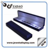 LED necklace boxes LED jewelry box LED light box LED diamond boxes