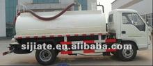 vácuo jorrando caminhão vácuo de sucção da bomba de esgoto