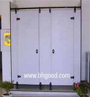 toilet cubicle / stainless steel toilet cubicle hardware