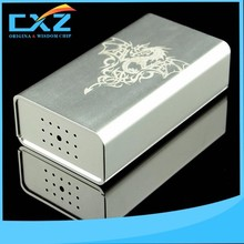 Best new 120 watts vape mod made chip rechargeable electronic cigarette