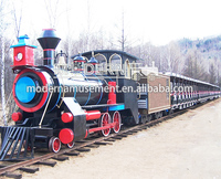 Used track train amusement park equipment for sale
