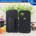 Para ZTE V809 Combo Funda Shell Y Holster Clip Stand