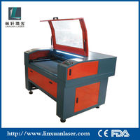 high quality co2 laser cutting machine for acrylic plastic film carpets