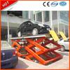 Heavy duty hydraulic double scissor car lift