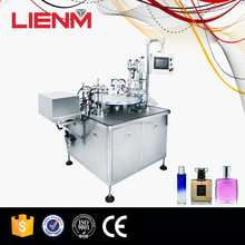 Perfume Bottle Automatic Rotary Filling and Capping Machine