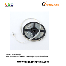 Fashionable led flexible strip 3528 waterproof 120leds/m with CE certification outdoor decoration