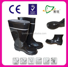 China Factory PVC Mining safety pvc rain boots,custom made wellington boots