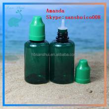 In stock ! Top quality 30 ml vials for E-juice with childproof&tamperproof cap / PET eliquid bottles