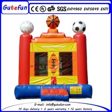 GUTEFUN brand portable top sale cheap commercialinflatable bouncy ball for kids for rent