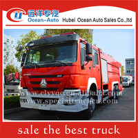 SINOTRUK HOWO 6X4 15000liter airport fire truck for sale