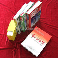 Cover and inner pages colorful book printing