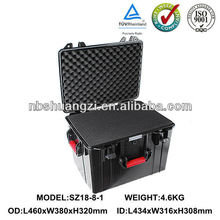waterproof IP67 plastic case for electronics trolley case manufacturer