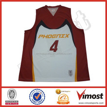 men's basketball top jerseys/custom with your own logo/number