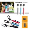 Cheap Bluetooth Extendable Handheld Selfie Stick for iPhone/Samsung Mobile phone