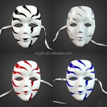 2015 cheap New Painted colorful beauty pvc silver party masquerade mask Venetian Party mask Free shipping