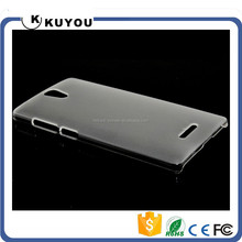 Pure Color Transparent PC Mobile Case For OPPO 7007