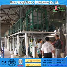 Capacity 50 T/Day corn flour processing line maize flour white corn flour