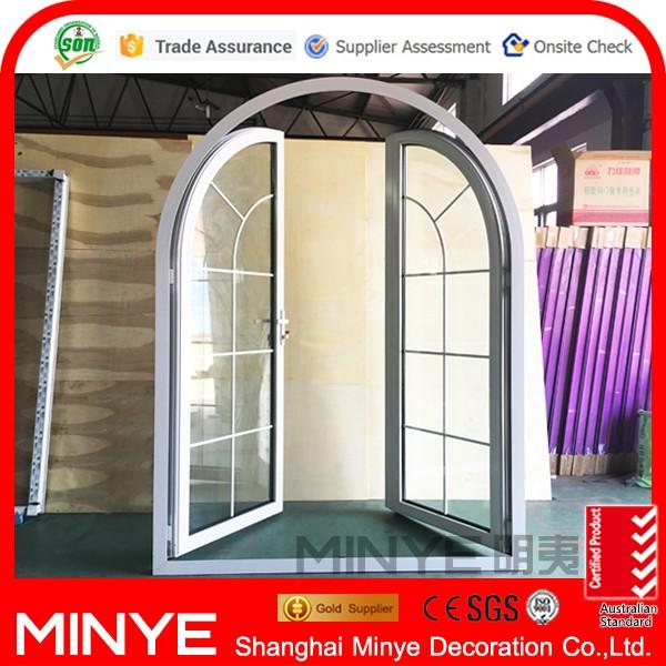 el ltimo diseo de en polvo de aluminio abatibles puertas ventanas con rejas japons