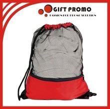Promotional Sports Bag Nylon Mesh Drawstring Bags