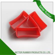 Molded silicon rubber silicon seal rectangle seal
