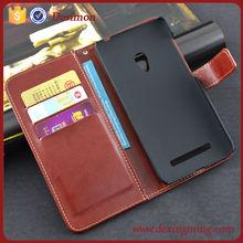 Retro leather slim fancy phone case for asus zenfone 5 case cover, custom design case for asus zenfone 5