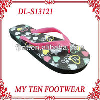 Wholesale PVC Beach Wedding Flip Flops For Ladies