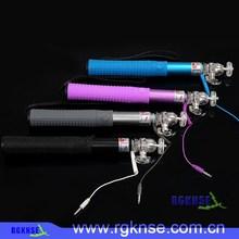 2014 trending products Mono pod aluminum photography extendable selfie stick