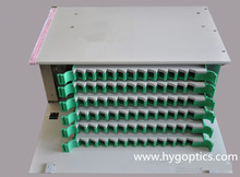 24 Port odf optical fiber distribution frame, rack mount 19 fiber optic odf, 24 port optical distribution frame odf