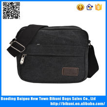 New fashion unisex college canvas shoulder bag made in china