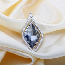 OUXI wholesale fashion 925 sun silver pendant jewelry Y30063