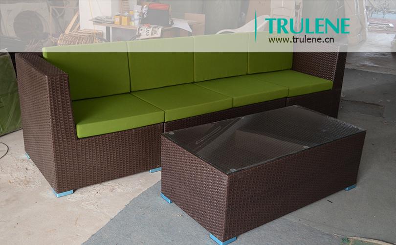 mobiliario jardim rattan : mobiliario jardim rattan:Rattan sofá mobiliário de jardim define / PE vime móveis para sala