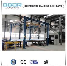 Free-standing type 500kg Light weight crane System