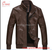 Comfortable Casual Hot-selling Men's Winter Washed Leather Garment