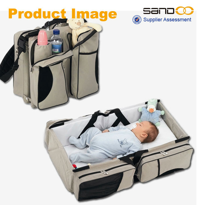 2014 New Fashion Folding Baby Travel Cot Bag,Baby Sleeping ...