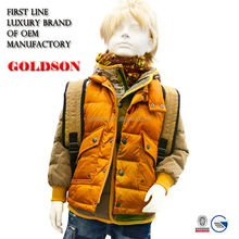 Boys fashionable goose down jacket brand designer clothes