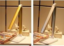 led que cambia de color de la lámpara de mesa regulable con sensor táctil
