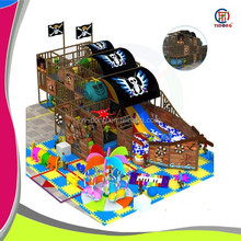 Pirate ship theme indoor playground with top quality,top service, and cheap price