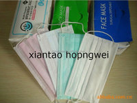 China hot sale nonwoven disposable 3 layer smoke protection mask