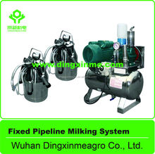 Best Selling Cow and Goat FIxed Pipeline Miliking System