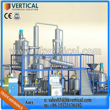VTS-DP waste vegetable oil filtration system, oil recycling systems, oil refinery devices
