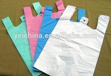 Las bolsas de plástico desechables personalizados
