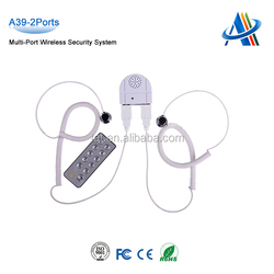 Retail open display security systems,alarmed mobile display stand,multiple display security alarm system