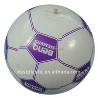 Inflatables PVC Free Beach Ball, Sport Football, Plastic Ball