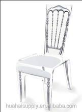 princess style clear acrylic chair for dining room furniture